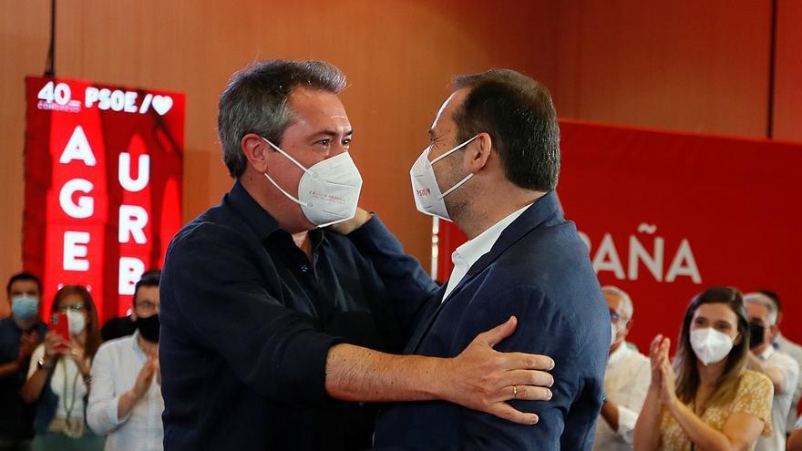 Ferraz impulsa al candidato a la Junta de Andalucía, Juan Espadas