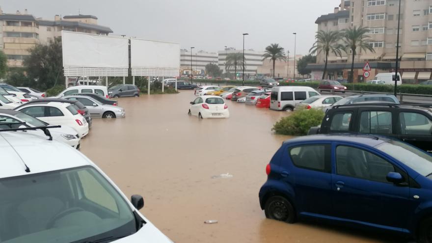 Vídeo de las inundaciones en Ibiza