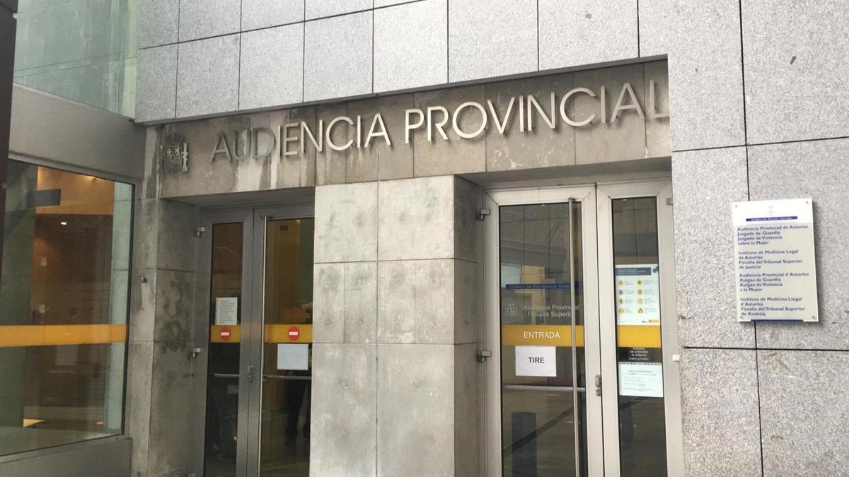 Juzgados en Oviedo y Audiencia Provincial