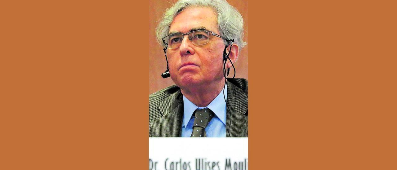 Carlos Ulises Moulines.