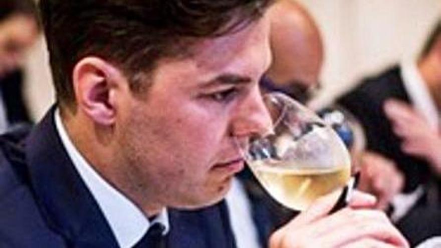 Gabriel Lucas Dimmock, embajador de la guía 'Star Wine List' en Mallorca