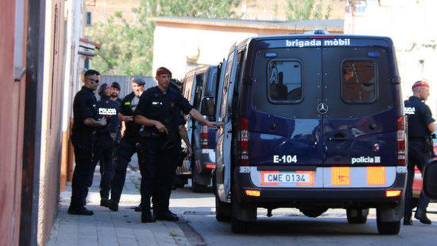Tres detinguts i 500 plantes de marihuana requisades en l'operatiu policial a Figueres