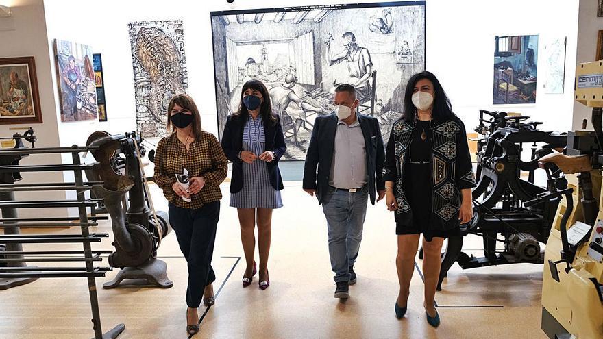 La Diputación rediseñará el Museo del Calzado de Elda con el equipo técnico del Marq
