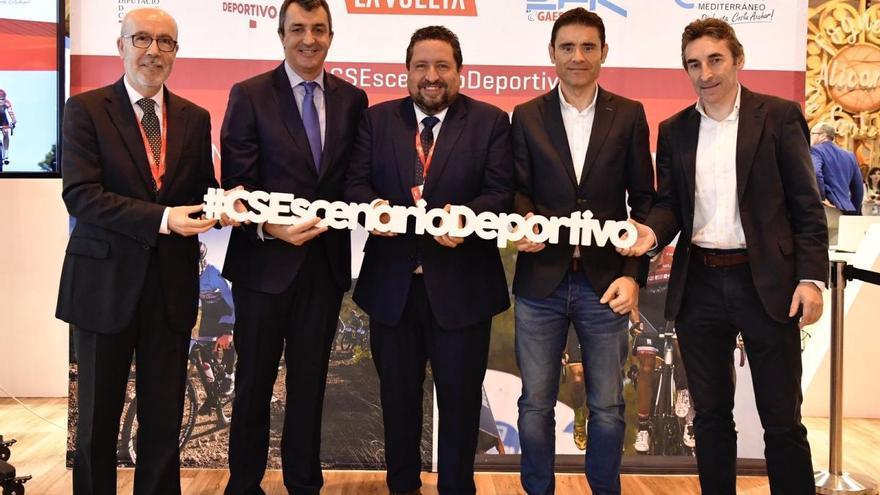 Diputación promociona Castellón en Fitur como destino para eventos deportivos