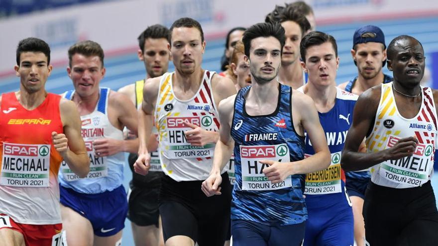 Bronze d'Adel Mechaal en 3.000 metres a l'Europeu d'atletisme de Polònia