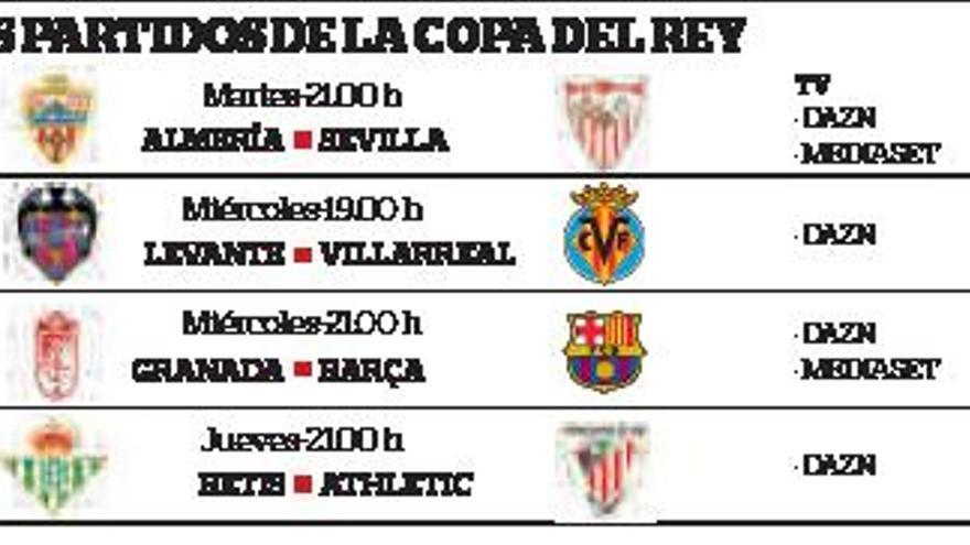 Almería-Sevilla, para abrir los cuartos