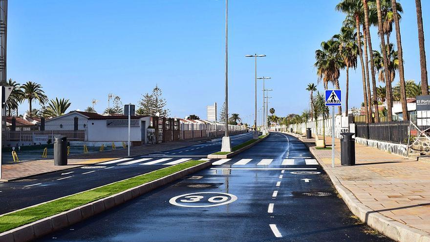 El Consorcio culmina la renovación de la avenida Alféreces Provisionales