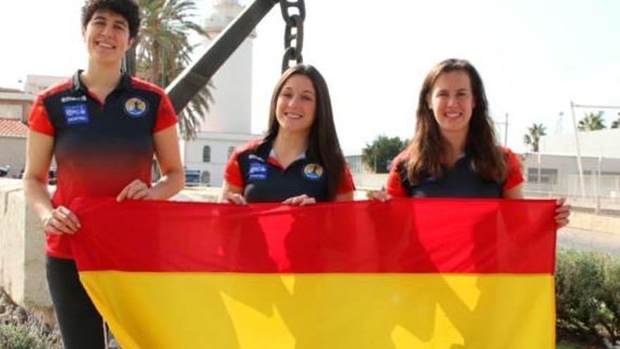 Sole López, Castellanos y Arderius acuden con las 'Guerreras' para jugar en Antequera