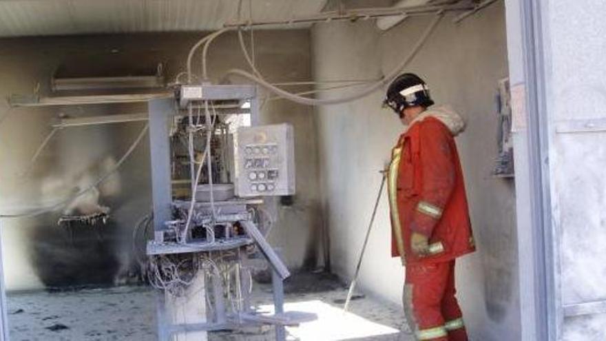 Explota en Llíria una caseta pirotécnica sin heridos