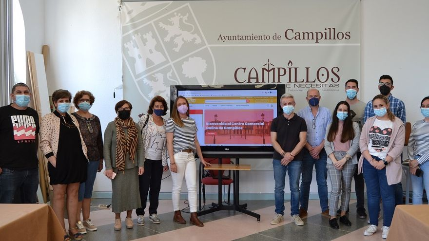 Campillos presenta una plataforma de venta online dirigida a los comercios del municipio