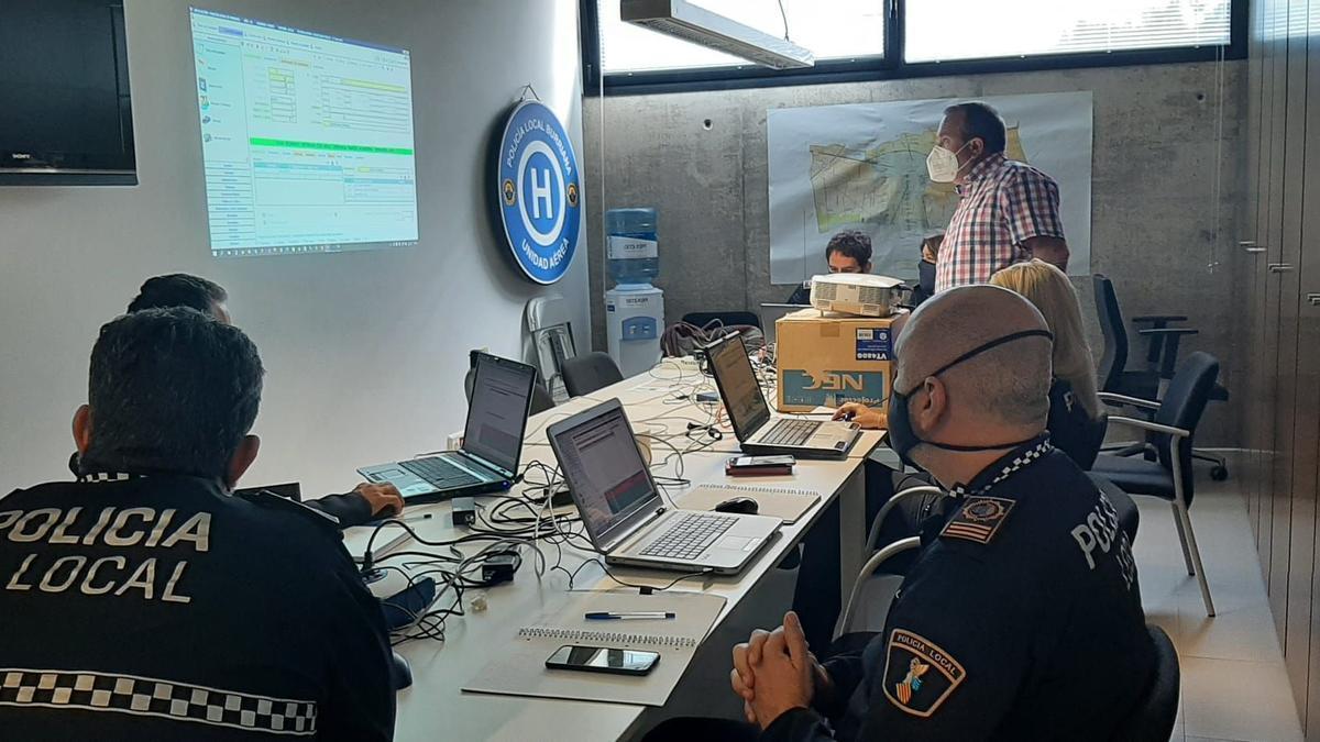 Burriana renueva el sistema informático de gestión policial