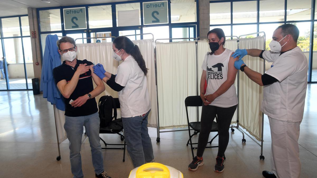 Salud vacunará este domingo en el Palacio de los Deportes de Murcia