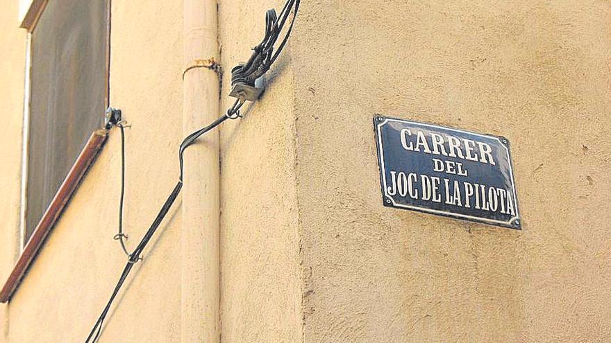 """Viejos """"carrers de pilota"""" en Catalunya"""