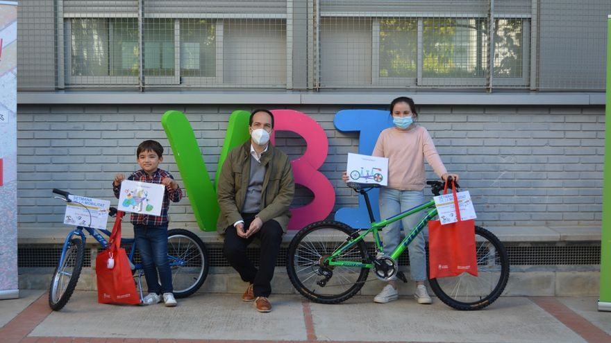 Aldaia regalará 17 bicis a escolares por la Semana Europea de la Movilidad
