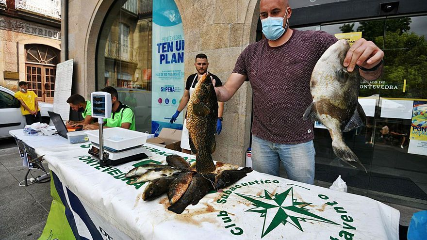 Un trofeo con pesca escasa