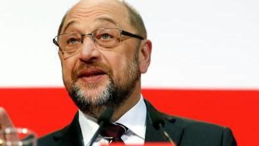 Schulz recomanarà al seu partit negociar amb Merkel per formar govern