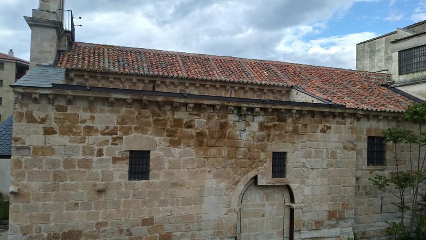 Piden el arreglo de las humedades de la iglesia de los Remedios en Zamora
