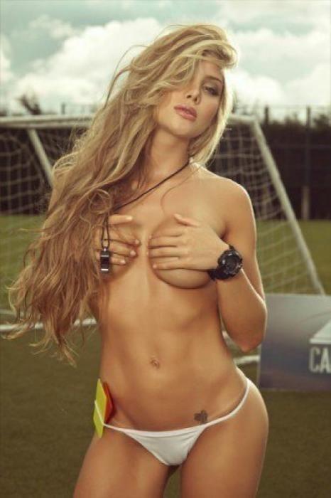 Sofía, musa del Manchester United