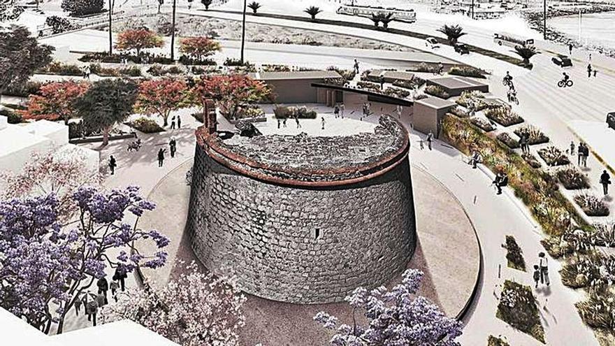 Adjudicada por 158.800 euros la redacción del proyecto del Castillo de San Andrés