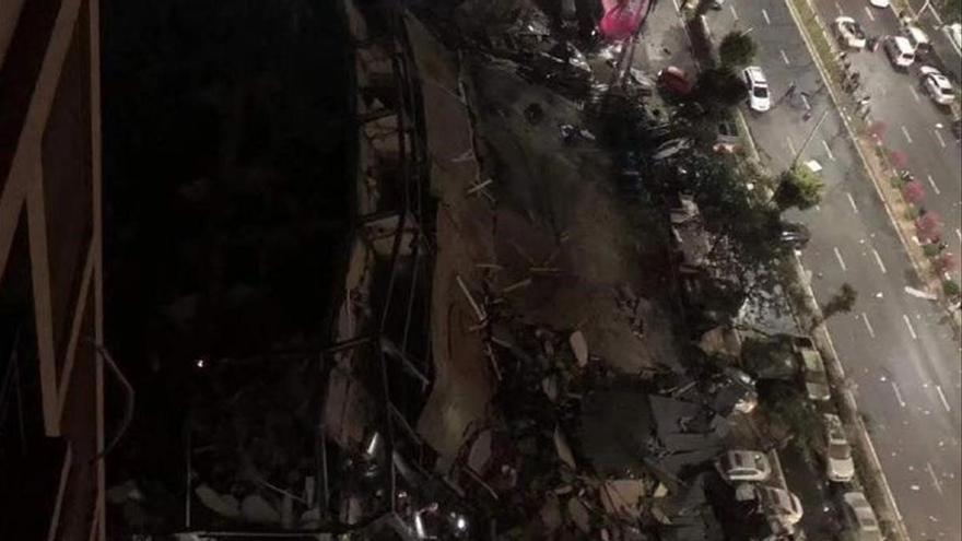 Almenys 8 morts a l'esfondrar-se un hotel a la Xina