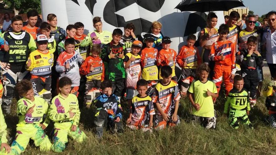 Fiesta en El Siscar con el motocross infantil