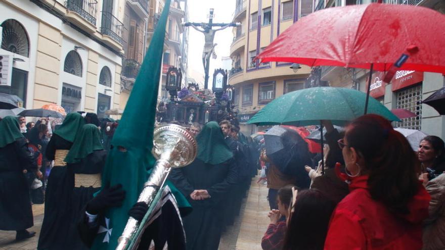 Vera Cruz acorta su recorrido por la lluvia