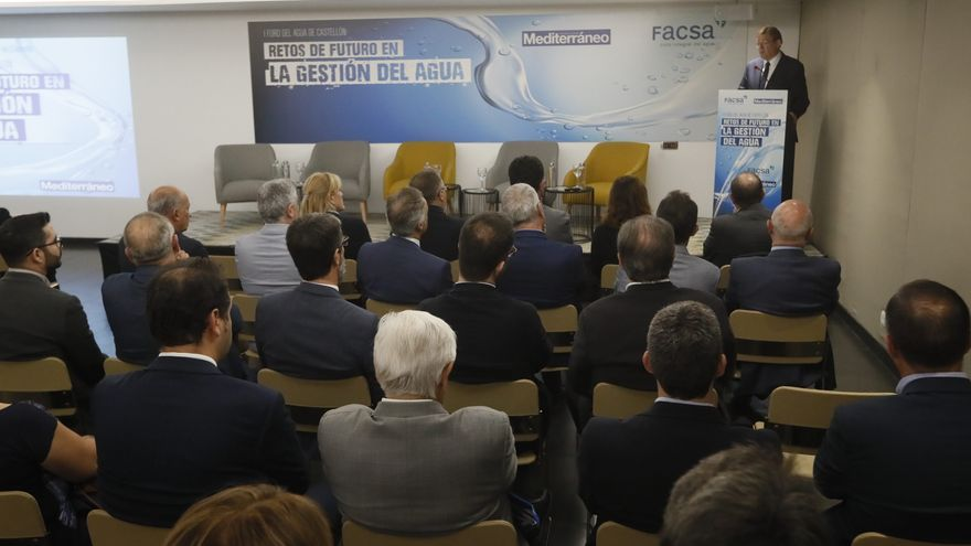 'Mediterráneo' y Facsa analizan los ejes de la recuperación en Castellón en el III Foro del Agua