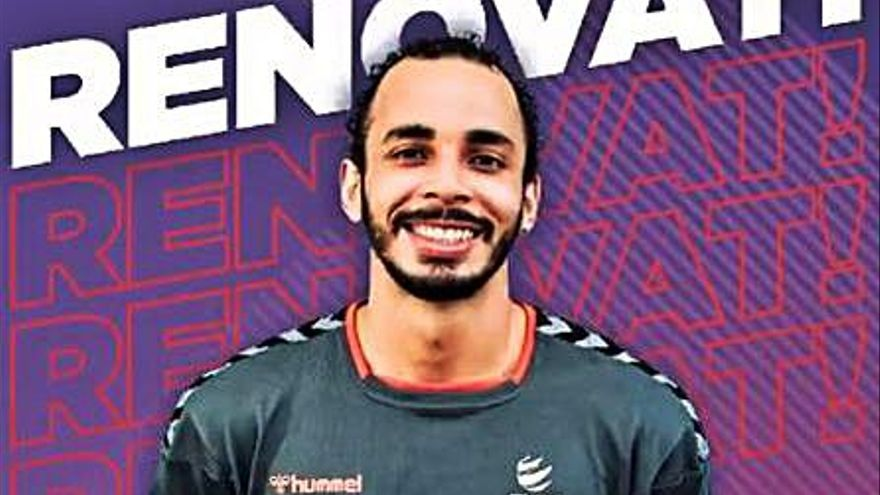 El ConectaBalear Manacor renueva al atacante brasileño Thiago Vanole