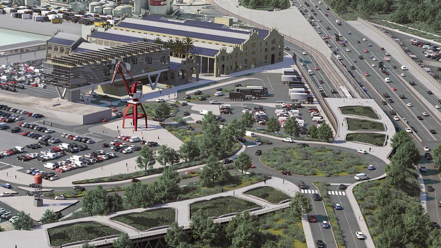 Baleària invertirá 37 millones en la terminal del puerto de València