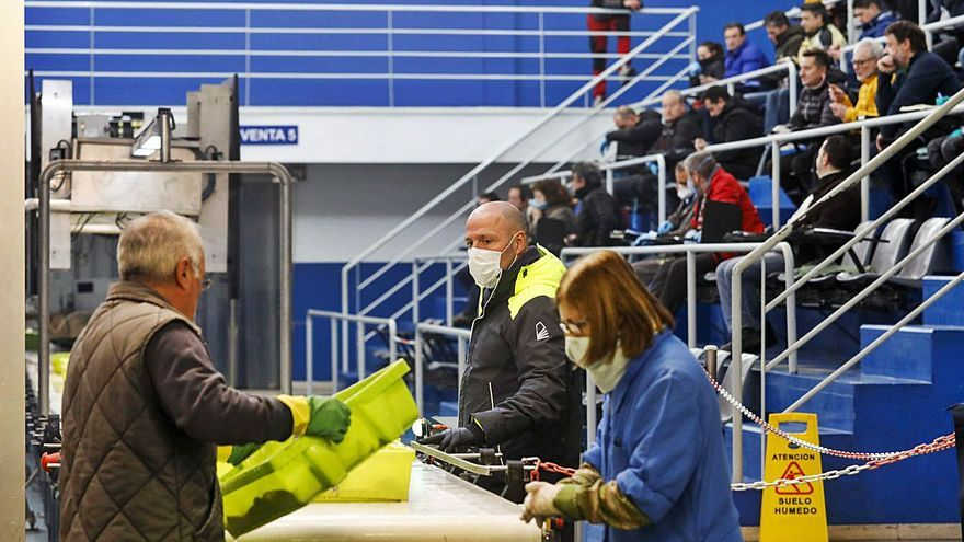 La lonja avilesina ingresa 6 de cada 10 euros en un año de récord en Asturias