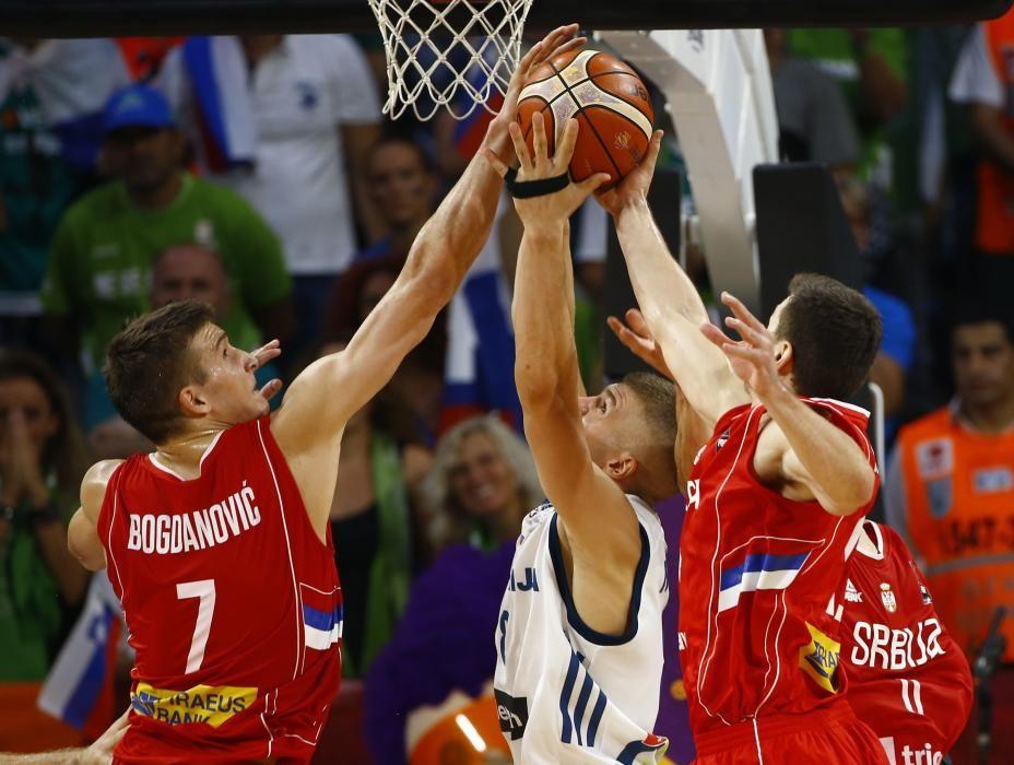 Final del Eurobasket2 2017: Eslovenia - Serbia
