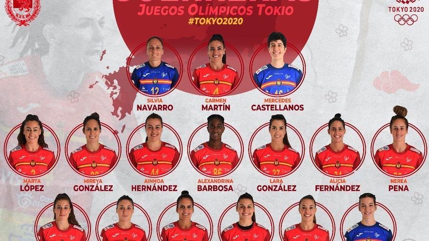 Tres Guerreras y un Hispano valencianos a los Juegos Olímpicos de Tokio