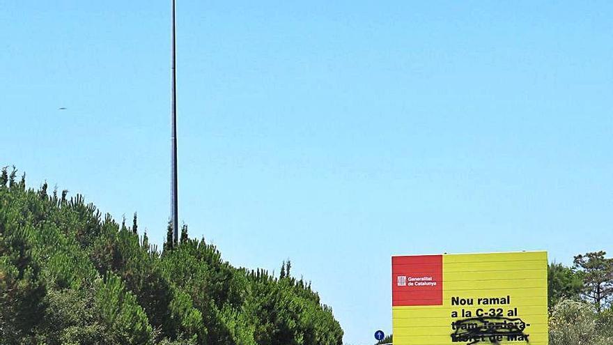 Tossa de Mar vol frenar l'ampliació de la C-32 entre Blanes i Lloret