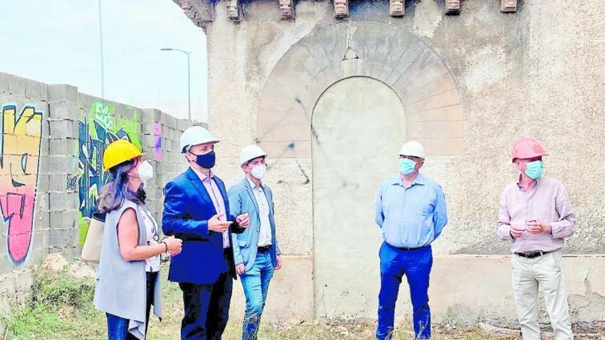 Avanza la rehabilitación del palacete de Garín en Burjassot