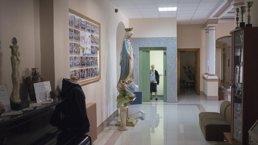 El aula del San Vicente de Paúl de Benavente en cuarentena regresa a la normalidad