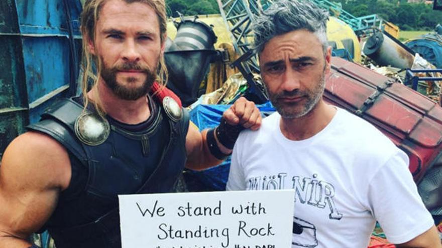 Thor presume de traje nuevo en 'Ragnarok'