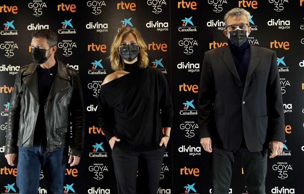 Presentación gala Premios Goya.