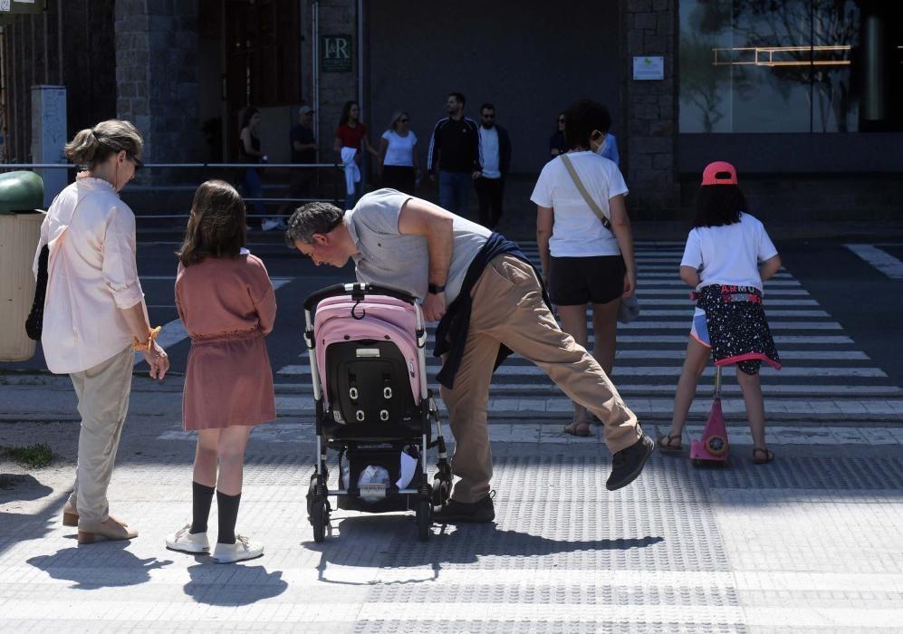 El buen tiempo acompaña la desescalada en A Coruña