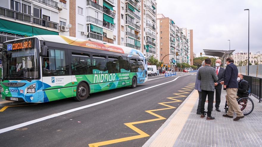El carril bus de Doctor Marañón propicia que las líneas sean muy puntuales
