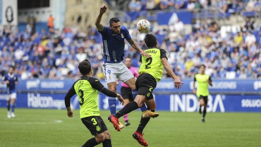 El Oviedo no acierta con el gol y empata ante el Girona