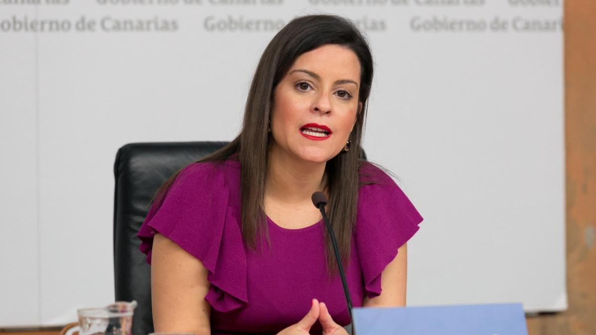 La consejera, Yaiza Castilla