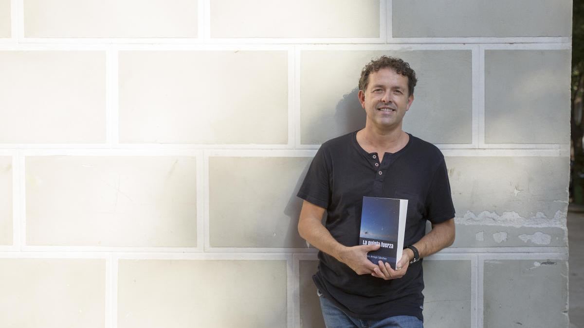 L'escriptor J.Carlos Arroyo