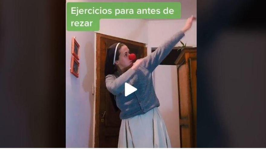 Josefina, la monja que arrasa en TikTok
