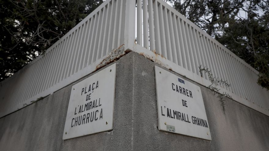 Las calles a los almirantes Churruca, Cervera y Gravina dejan de ser franquistas