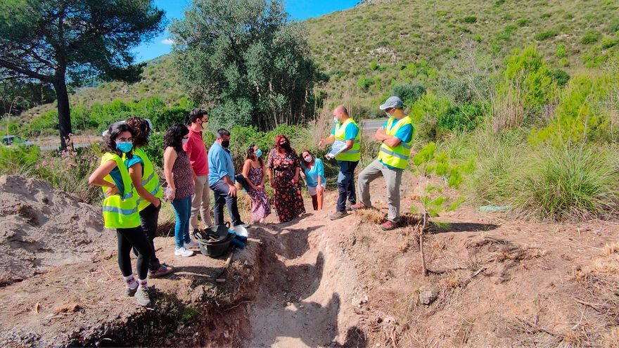 Empiezan los trabajos para localizar una fosa en el Coll d'Artà