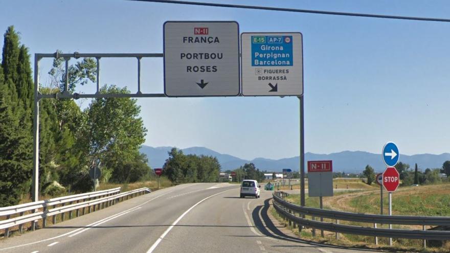 Inversió testimonial de l'Estat per al desdoblament de l'N-II a l'Alt Empordà