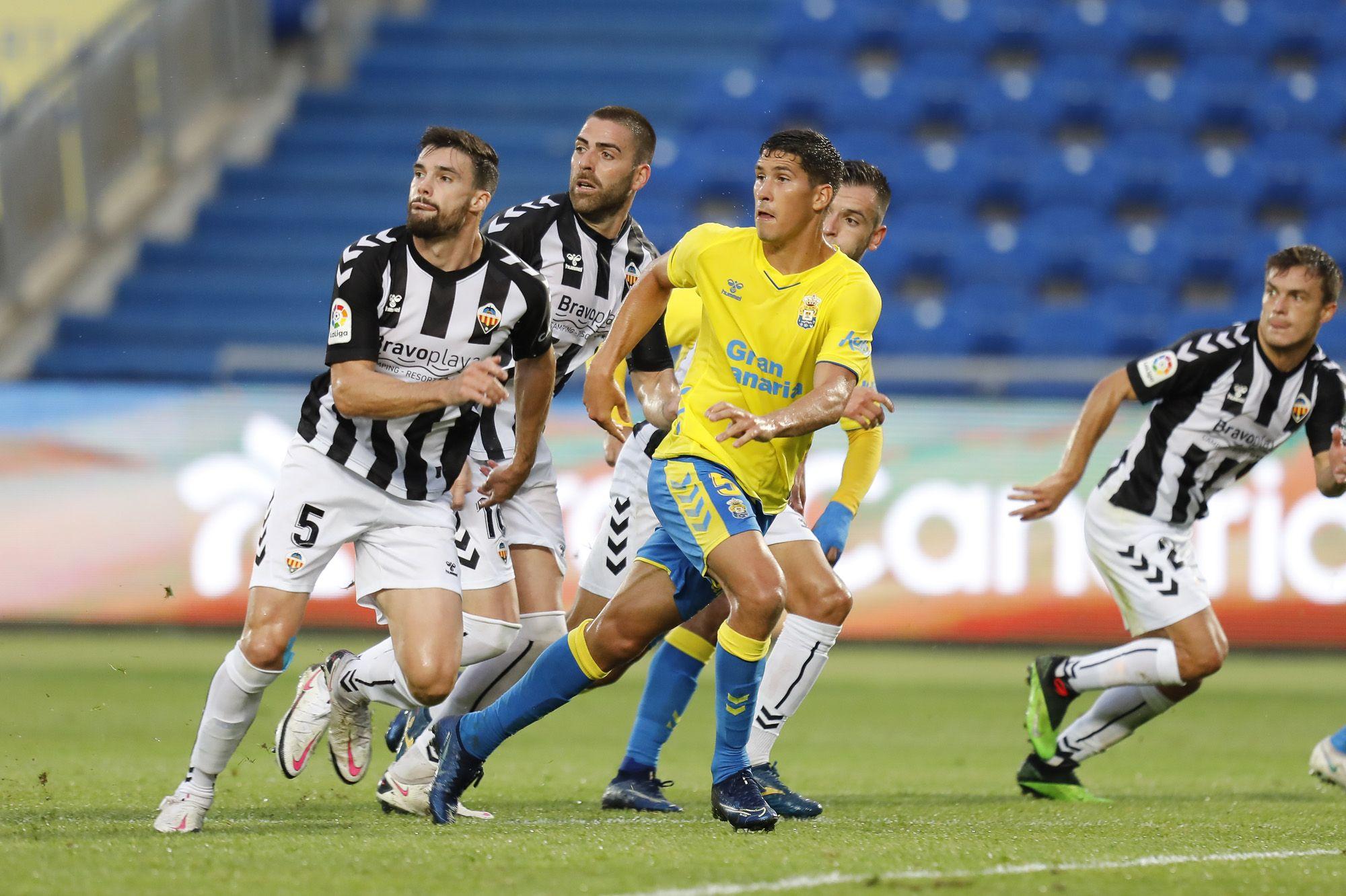 Partido UD Las Palmas - CD Castellón (2-1)