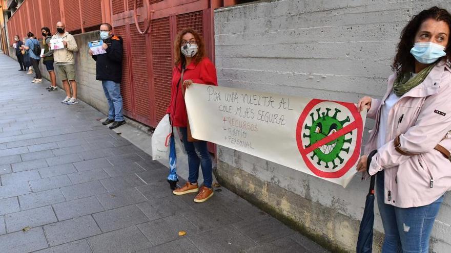 La Xunta anuncia un aula en cuarentena en el colegio Alborada de A Coruña, pero el colegio lo niega
