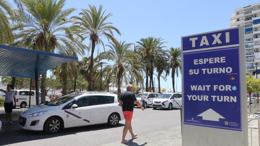Una asociación de taxistas aplaude la nueva ordenanza de Sant Antoni