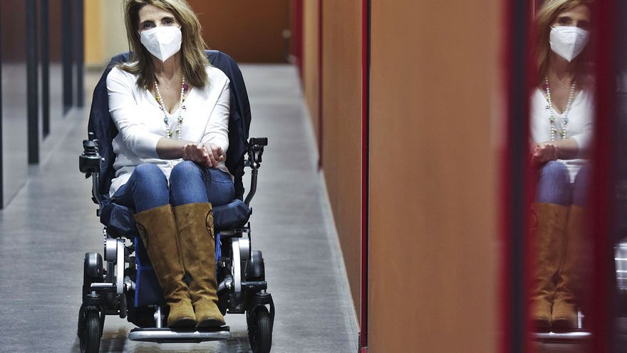 Yolanda Vidal, un pulso diario a la esclerosis múltiple